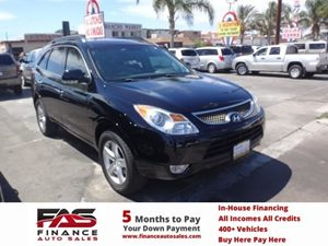 2010 Hyundai Veracruz GLS Carfax Report - No Accidents  Damage Reported to CARFAX  Black Noir