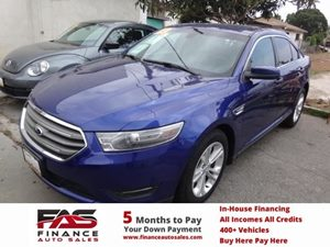 2013 Ford Taurus SEL Carfax 1-Owner - No Accidents  Damage Reported to CARFAX  Deep Impact Blu