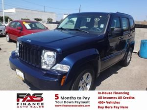 2012 Jeep Liberty Sport Carfax Report - No Accidents  Damage Reported to CARFAX  True Blue Pea