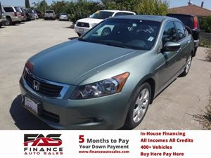 2009 Honda Accord Sdn EX-L Carfax Report - No Accidents  Damage Reported to CARFAX  Mystic Gre