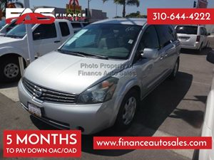 2008 Nissan Quest Base Carfax Report - No Accidents  Damage Reported to CARFAX 6 Cylinders Air