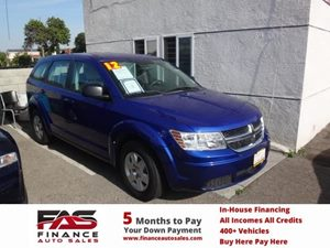 2012 Dodge Journey American Value Pkg Carfax 1-Owner - No Accidents  Damage Reported to CARFAX