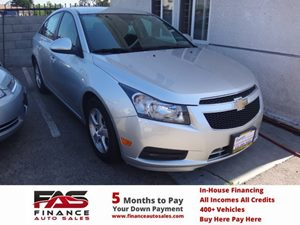 2014 Chevrolet Cruze 1LT Carfax 1-Owner - No Accidents  Damage Reported to CARFAX  Champagne S
