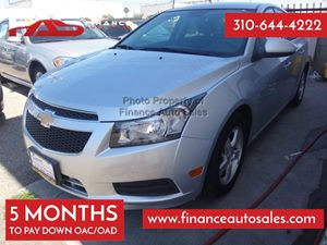2014 Chevrolet Cruze 1LT Carfax 1-Owner - No Accidents  Damage Reported to CARFAX 4 Cylinders A