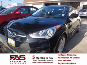 2012 Hyundai Veloster wBlack Int Carfax 1-Owner - No Accidents  Damage Reported to CARFAX  Ul