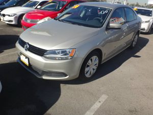 2014 Volkswagen Jetta Sedan SE Carfax 1-Owner - No Accidents  Damage Reported to CARFAX  Black
