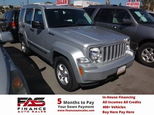 2012 Jeep Liberty Sport Carfax Report - No Accidents  Damage Reported to CARFAX  Bright Silver