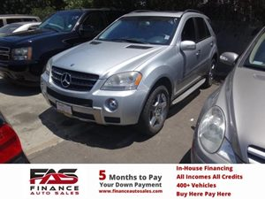 2008 MERCEDES ML550 SUV Carfax Report - No Accidents  Damage Reported to CARFAX  Iridium Silve
