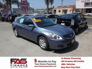 2011 Nissan Altima 25 S Carfax Report - No Accidents  Damage Reported to CARFAX  Navy Blue Me