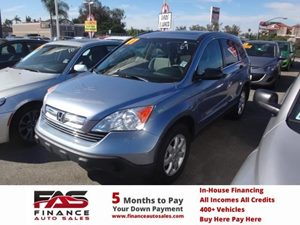2007 Honda CR-V EX Carfax Report - No Accidents  Damage Reported to CARFAX  Glacier Blue Metal