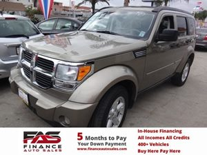 2007 Dodge Nitro SLT Carfax Report - No Accidents  Damage Reported to CARFAX  Gold  NOTICE