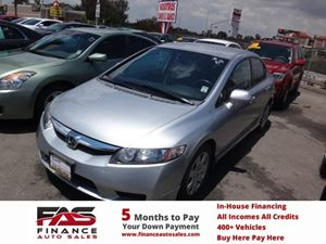 2010 Honda Civic Sdn LX Carfax Report - No Accidents  Damage Reported to CARFAX  Alabaster Sil