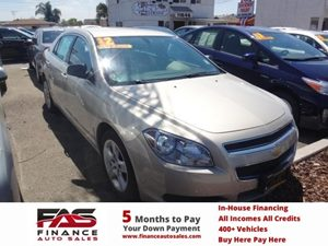 2012 Chevrolet Malibu LS w1FL Carfax 1-Owner - No Accidents  Damage Reported to CARFAX  Tan