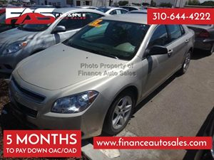 2012 Chevrolet Malibu LS w1FL Carfax 1-Owner - No Accidents  Damage Reported to CARFAX 4 Cylind