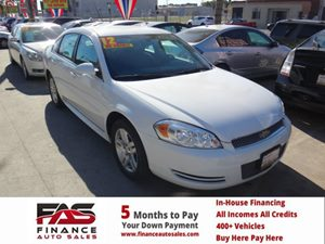 2012 Chevrolet Impala LT Fleet Carfax Report - No Accidents  Damage Reported to CARFAX  Silver