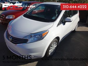 2014 Nissan Versa Note SV Carfax 1-Owner - No Accidents  Damage Reported to CARFAX  Aspen Whit
