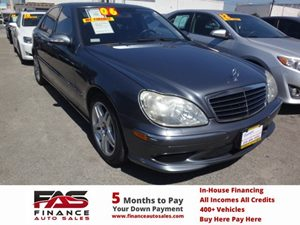 2006 MERCEDES S500 Sedan Carfax Report - No Accidents  Damage Reported to CARFAX  Alabaster Wh