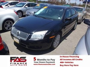 2008 Mercury Milan Premier Carfax 1-Owner - No Accidents  Damage Reported to CARFAX  Black  N