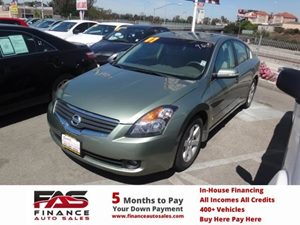 2007 Nissan Altima 35 SL Carfax Report  Green  NOTICE All advertised prices are discounte