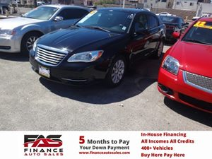 2013 Chrysler 200 Touring Carfax Report - No Accidents  Damage Reported to CARFAX  Black  NOT