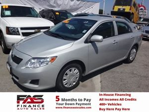 2010 Toyota Corolla  Carfax Report - No Accidents  Damage Reported to CARFAX  Classic Silver M