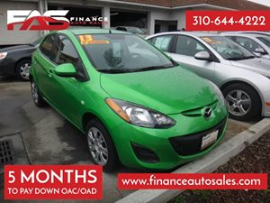 2013 Mazda Mazda2 Sport Carfax 1-Owner - No Accidents  Damage Reported to CARFAX 4 Cylinders Ai