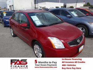 2011 Nissan Sentra 20 S Carfax Report - No Accidents  Damage Reported to CARFAX  Red Brick