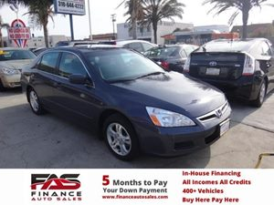 2007 Honda Accord Sdn EX-L Carfax Report - No Accidents  Damage Reported to CARFAX  Alabaster