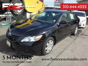 2009 Toyota Camry  Carfax Report - No Accidents  Damage Reported to CARFAX  Black  Rates as l