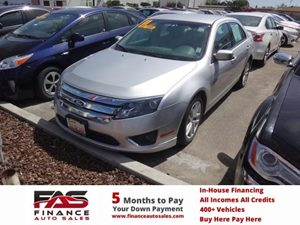 2011 Ford Fusion SEL Carfax Report - No Accidents  Damage Reported to CARFAX  Ingot Silver Met