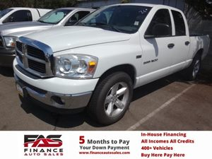 2007 Dodge Ram 1500 SLT Carfax Report - No Accidents  Damage Reported to CARFAX  Bright White
