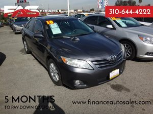 2010 Toyota Camry LE Carfax Report - No Accidents  Damage Reported to CARFAX  Aloe Green Metal