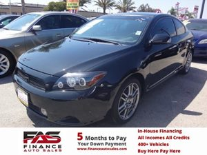 2010 Scion tC  Carfax 1-Owner - No Accidents  Damage Reported to CARFAX  Black Sand Pearl  NO