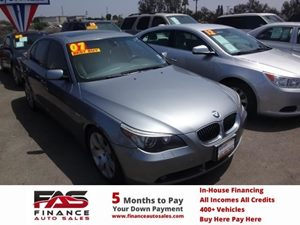 2007 BMW 5 Series 530i Carfax Report - No Accidents  Damage Reported to CARFAX  Amethyst Gray