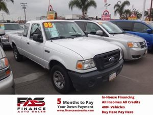 2008 Ford Ranger XL Carfax 1-Owner - No Accidents  Damage Reported to CARFAX  Oxford White  N