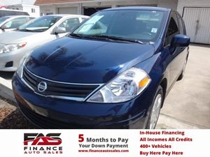 2012 Nissan Versa S Carfax Report - No Accidents  Damage Reported to CARFAX  Arctic Blue  NOT