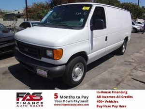 2005 Ford Econoline Cargo Van  Carfax Report - No Accidents  Damage Reported to CARFAX  Oxford