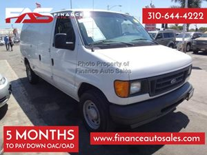 2005 Ford Econoline Cargo Van  Carfax Report - No Accidents  Damage Reported to CARFAX 12-Volt P