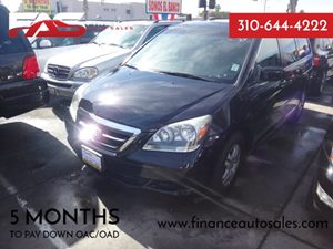 2007 Honda Odyssey EX-L Carfax Report - No Accidents  Damage Reported to CARFAX  Nighthawk Bla