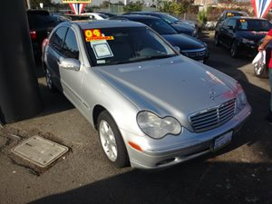 2004 MERCEDES C320 Sedan Carfax Report  Brilliant Silver Metallic  Rates as low as 29 - At