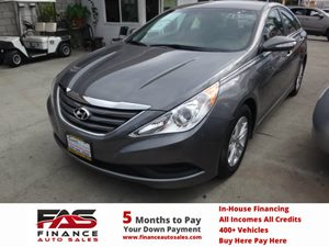 2014 Hyundai Sonata GLS Carfax 1-Owner - No Accidents  Damage Reported to CARFAX  gary  NOTIC