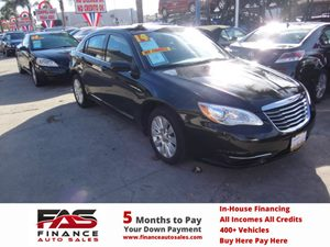 2014 Chrysler 200 LX Carfax 1-Owner - No Accidents  Damage Reported to CARFAX  Black Clearcoat