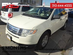 2007 Ford Edge SE Carfax Report - No Accidents  Damage Reported to CARFAX  cream  Rates as lo