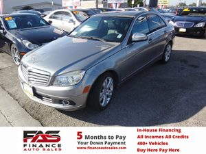2008 MERCEDES C300 Sport Sedan Carfax Report - No Accidents  Damage Reported to CARFAX  gary