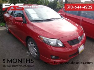 2009 Toyota Corolla  Carfax Report - No Accidents  Damage Reported to CARFAX  Barcelona Red Me