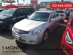 2010 Nissan Altima 25 S Carfax Report - No Accidents  Damage Reported to CARFAX  Radiant Silv