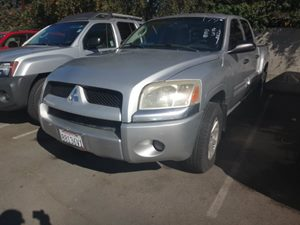 2006 Mitsubishi Raider LS Carfax Report  Alloy Silver  Rates as low as 29 - At finance auto