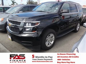 2015 Chevrolet Tahoe LT Carfax 1-Owner - No Accidents  Damage Reported to CARFAX  Black  Rate