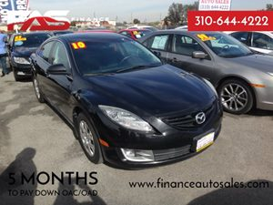 2010 Mazda Mazda6 i Sport Carfax Report - No Accidents  Damage Reported to CARFAX  Black Cherr