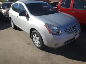 2009 Nissan Rogue S Carfax Report - No Accidents  Damage Reported to CARFAX  Silver  NOTICE